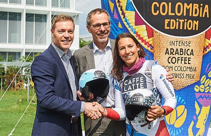 Emmi Caffè Latte nouveau sponsor principal de Wendy Holdener