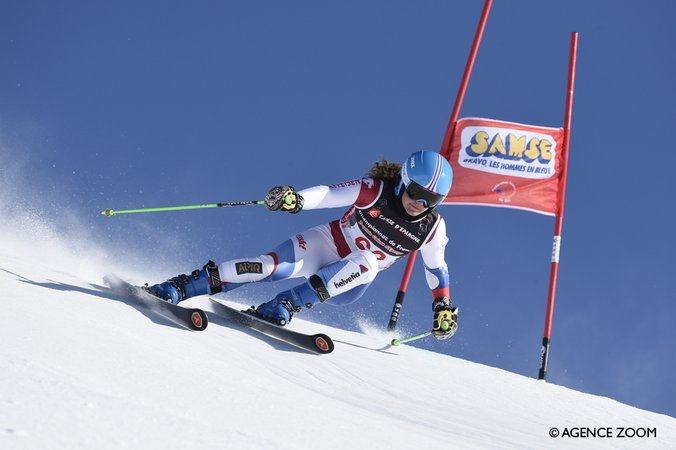 Lindy Etzenberger victorieuse en Super G