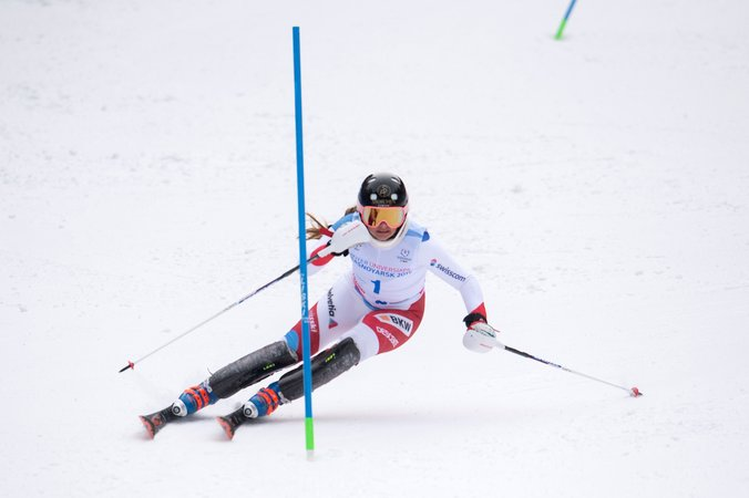Universiades: la 6e place pour Lara Zürcher en slalom